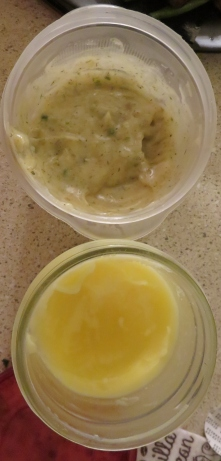 Ranch Dressing & Clarified Butter